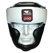 Pro Series Leather Headgear by Bad Boy